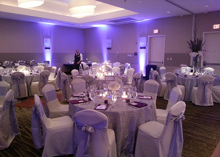 Charming Before And After. Ivory Chair Cover ...